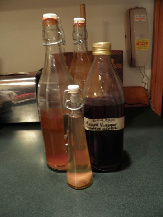 Waste Not, Want Not- make your own apple cider or other fruit vinegars, and natural apple pectin