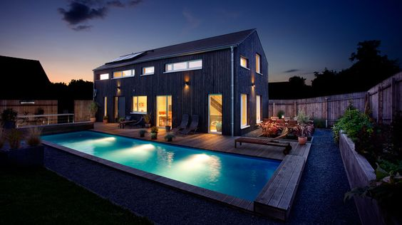 Designline Licht - Projekte: Smartes Holzhaus   designlines.de
