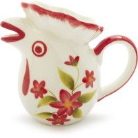 Red Rooster creamer