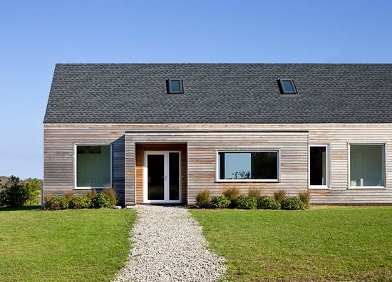 passiv wooden house by Zero Energy Design (ZED) - Rhode Island, USA