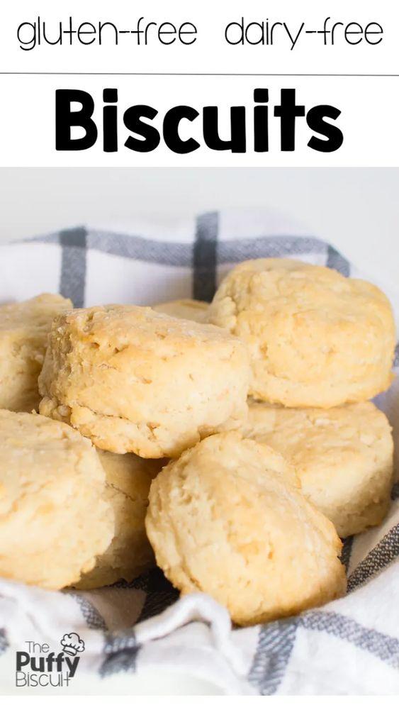Gluten-Free Dairy-Free Puffy Biscuits