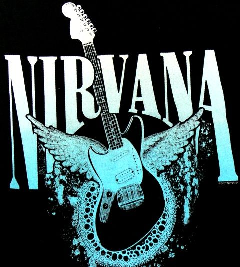 【楽天市場】NIRVANAニルヴァーナHEAVEN GUITAR-レディースTシャツ:ANIMAL-ROCK