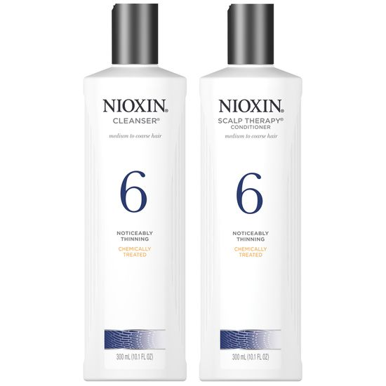 nioxin system 6 shampoo and conditioner duo 10 oz