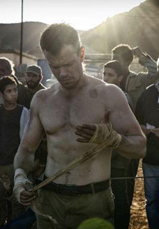 Matt Damon - New Bourne