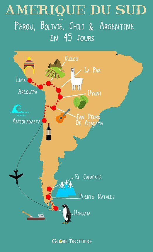 Du Perou A La Patagonie En 45 Jours Amerique Du Sud Perou