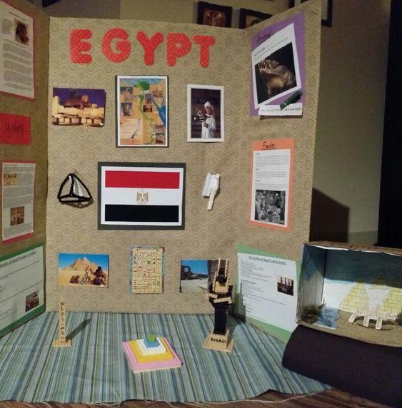 egypt thinking day ideas
