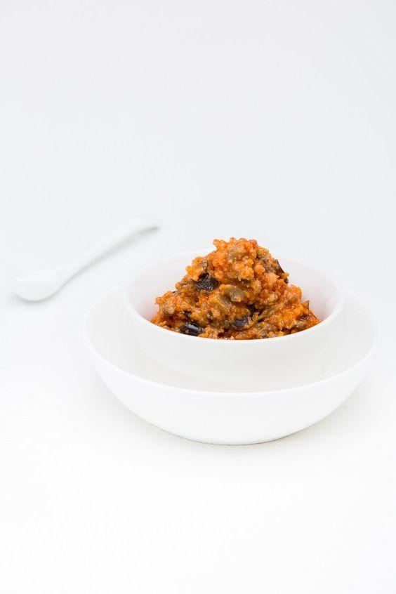 """Leckeres Pesto-Rezept nach dem Pasta-Klassiker """"alla Norma"""" mit Tomaten und Auberginen."""