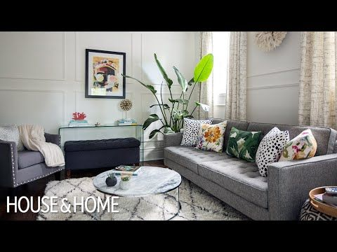 Pin On Interior Design Small living room ideas youtube