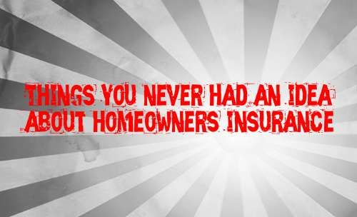 Homeowners Insurance Is The Insurance Protection For The Own House