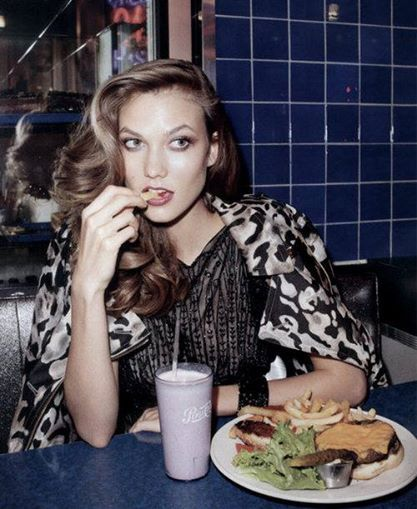 Karlie Kloss photographed by Terry Richardson for Vogue UK 2011