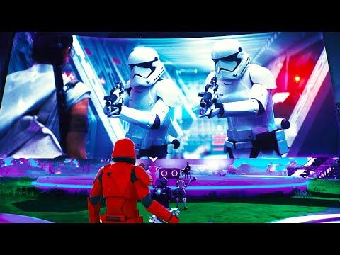 Fortnite Star Wars Event Full Video No Commentary Youtube Star Wars Fortnite Event Video