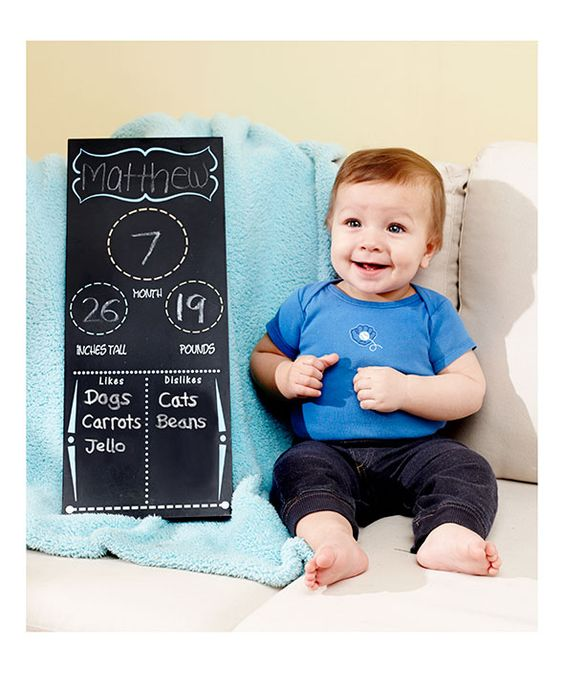 Maternity or Baby Progression Chalkboard Signs | LTD Commodities