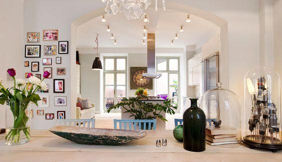 cozinha, decoração, casa