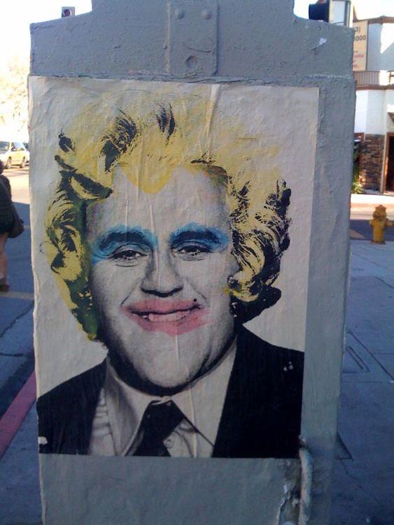 Mr. Brainwash, Marilyns and Dali, Los Angeles