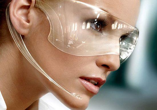 virtual info goggles