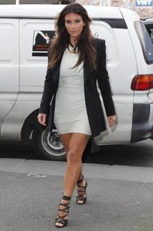 Casual Work Dressy Black Blazer White Dress Black Heels | Clothes