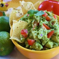 An authentic guacamole recipe passed down through generations includes chile de arbol peppers, tomatoes, cilantro, and a squeeze of lime juice.