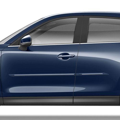 Mazda Cx5 Chromeline Painted Body Side Molding 2017 2020 Cf7 Cx5 Mazda Cx5 Mazda Body Molding
