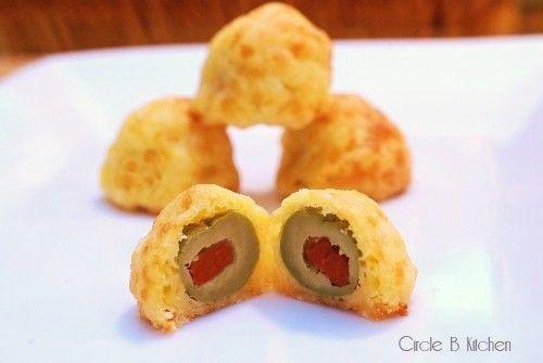 Olive Cheese Bites