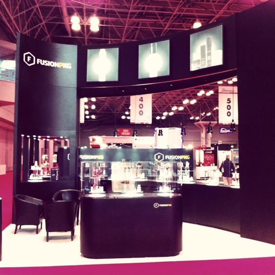 FusionPKGs Booth At The Javits Convention Center In NYC For 2013 HBA Global Expo And Conference