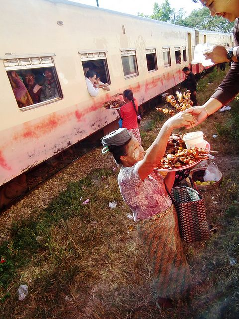 Train to Hsipaw . Myanmar
