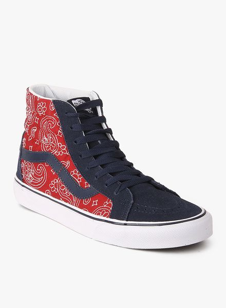 Big Clearance Sale Vans Sk8-Hi Reissue Navy Blue Sneakers Men's Shoes 6QOXDFKN