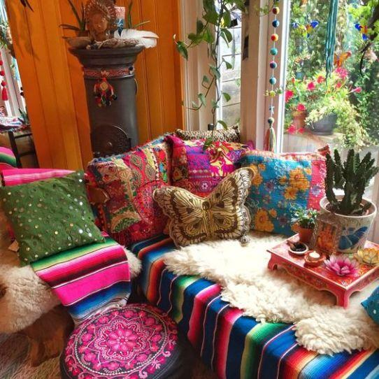 Decoración Sin Normas El Blog De Vane Decoración Boho Chic Decoración Boho Decoraciones De Casa
