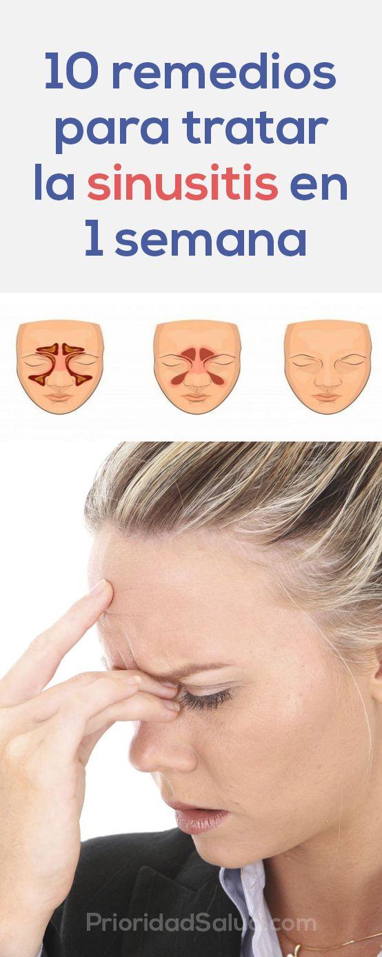 trucos caseros para curar la sinusitis