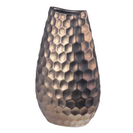 Found it at AllModern - Matte Ceramic Vase http://www.allmodern.com/deals-and-design-ideas/p/Getting-Warmer%3A-Copper-%2B-Bronze-Matte-Ceramic-Vase~PVL4823~E16976.html?refid=SBP.rBAZEVSpr0ZkTSAaH-paAi_K1xHQoEU5mkAomqF9uQI