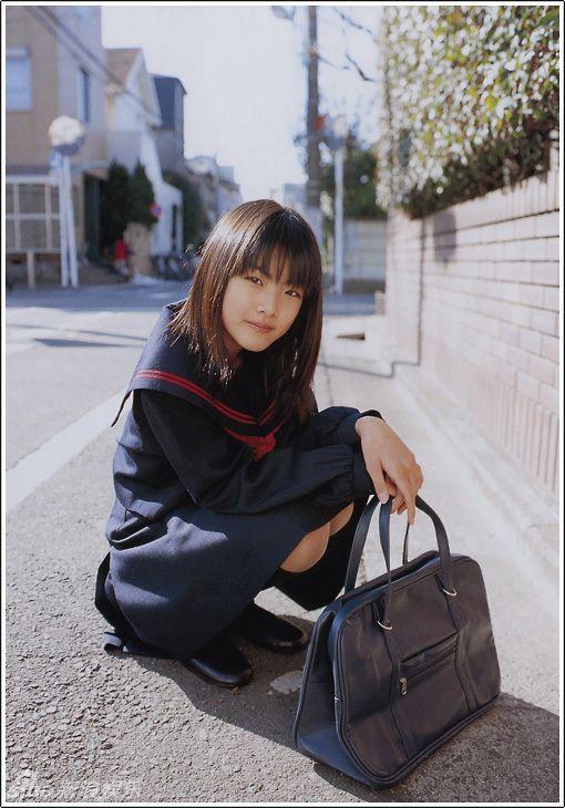 福田麻由子のセーラー服