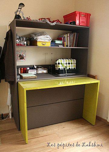 gain de place projets essayer pinterest pi ces de monnaie atelier et haute couture. Black Bedroom Furniture Sets. Home Design Ideas
