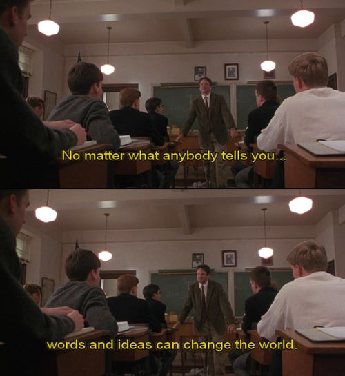 Words and Ideas