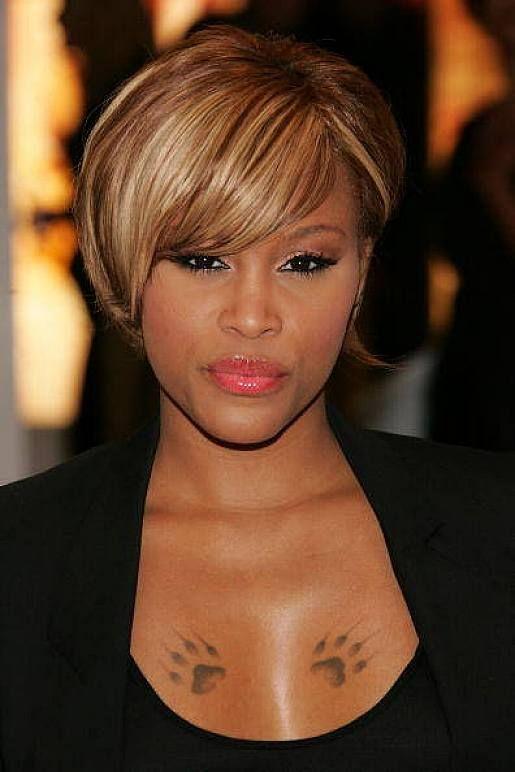 Super Blonde Highlights Black Women And Highlights On Pinterest Short Hairstyles For Black Women Fulllsitofus