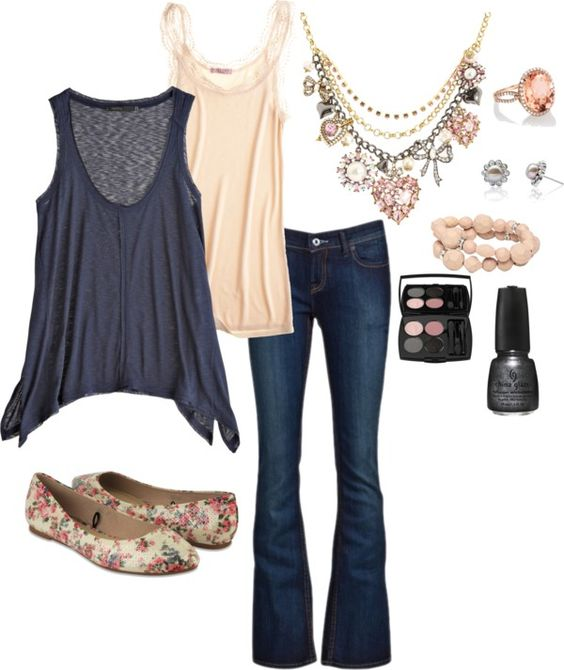 """""""pretty in pink and grey"""" by dirrectorgirl85 on Polyvore"""