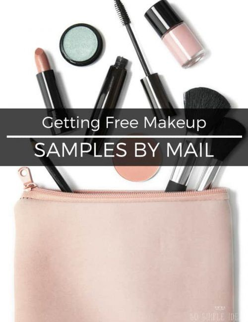 Getting Free Makeup Samples By Mail Worth Doing So Simple Ideas Free Makeup Samples Free Makeup Get Free Makeup