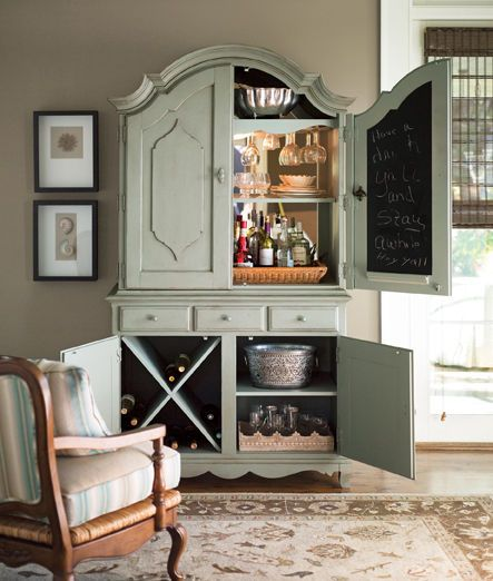 Paula Deen Bar Hutch. I could get the hubby to turn my old ...