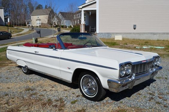 1964 Chevrolet Impala True SS Convertible (Numbers Matching)