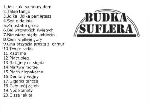 Budka Suflera 20 Przebojow Megamix Youtube Tango Sen Muzyka