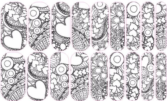 Get your own custom Jamberry Color Me nail wraps! These ...