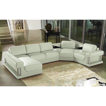 Free Shipping Buy Hokku Designs Eben Sectional At Walmart Com Modern Sofa Sectional Contemporary Living Room Sectional Modular Sectional Sofa