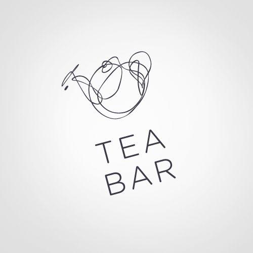 logo / tea bar