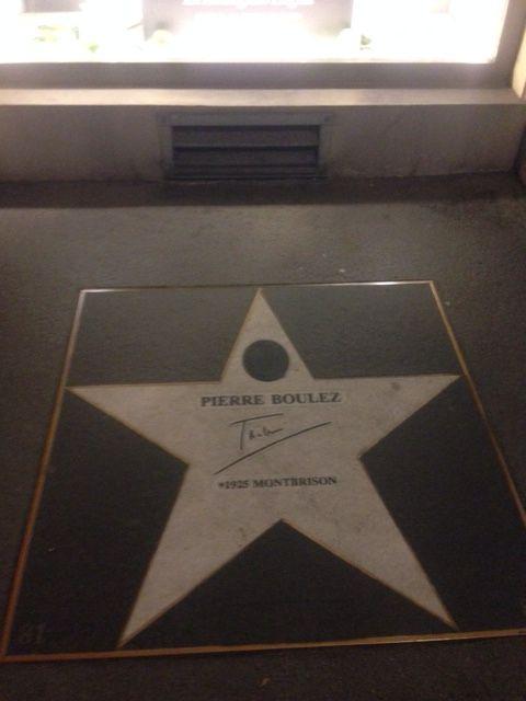 Étoile de Pierre Boulez