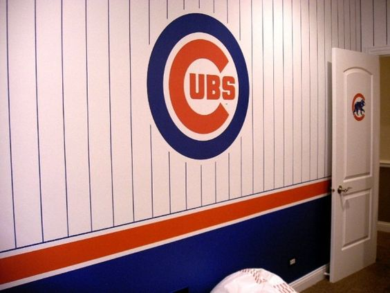 cubs chicago cubs and boys room design on pinterest