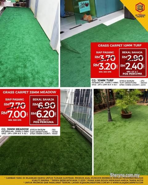 Business For Sale For Sale Rm2 In Klang Selangor Malaysia Ready For A Redesign Your Garden Redesign With Images Grass Carpet Artificial Grass Carpet Artificial Grass