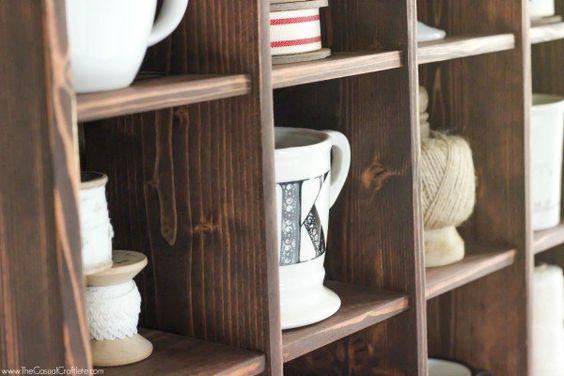 Pottery Barn Copycat Cubby Organizer