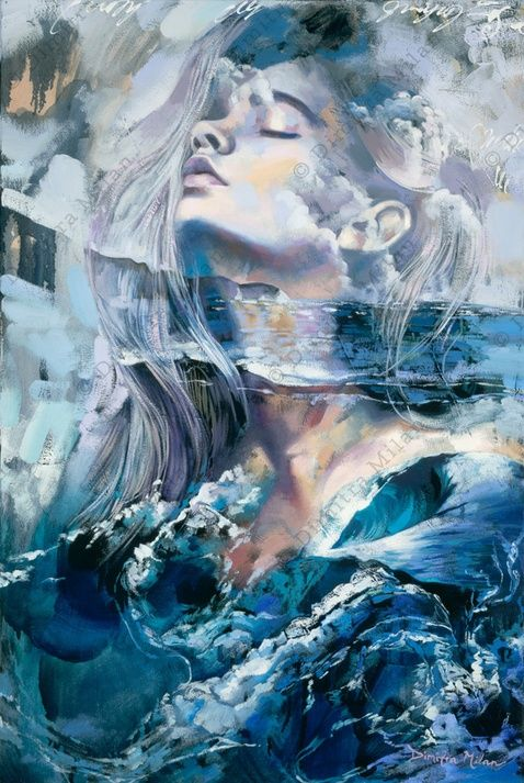 Breath of Providence (36 x 24″, Oil on Canvas) by Dimitra Milan:
