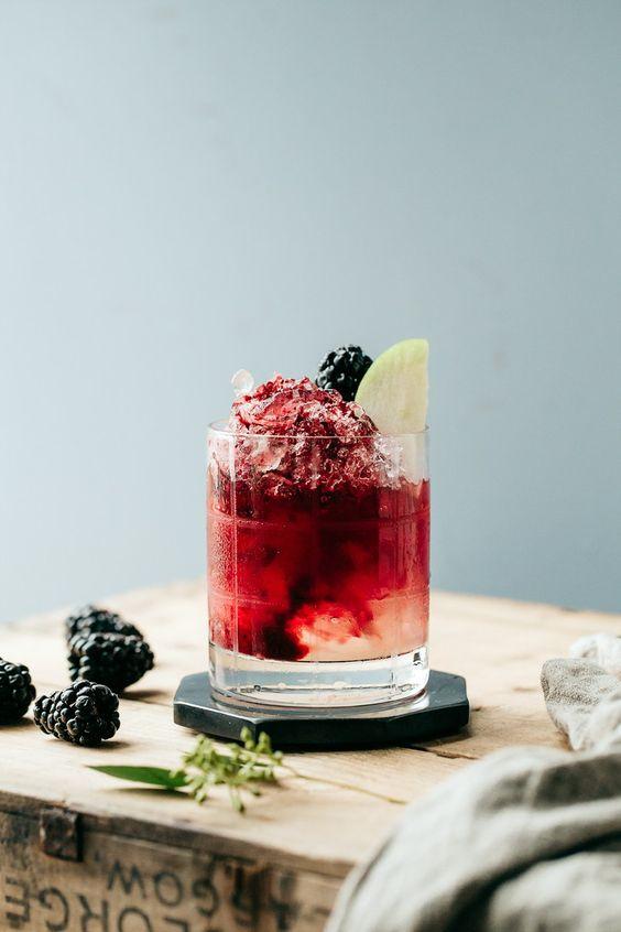 The Italian Bramble (Non-Alcoholic Cocktail)