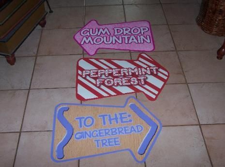 Candyland Signs Chuck S 4th Pinterest Posts Signs