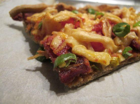 glutenfreier Pizzateig für Cheatdays