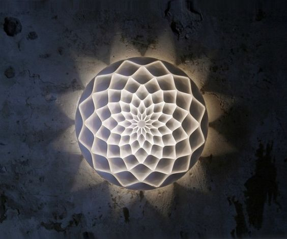 Interior Wonderful 3D Printing For Interior Design By Freedom Of Creation Dahlia D32 Light With Unique Shaped Design Ideas 3D Printing for I...Join the 3D Printing Conversation: http://www.fuelyourproductdesign.com/